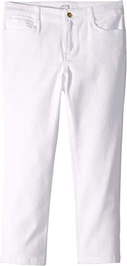 Cropped Denim Pants in White (Toddler/Little Kids/Big Kids)