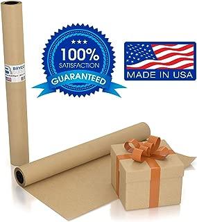 Large Brown Kraft Paper Roll - 36