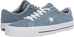 Celestial Teal Black White. 39. Converse Skate. One Star Pro - Ox 2223cef0d