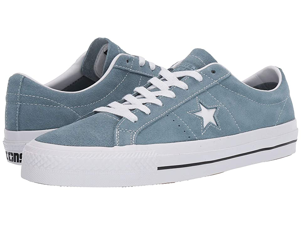 Converse Skate One Star Pro - Ox (Celestial Teal/Black/White) Skate Shoes, Blue