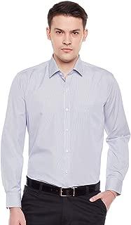 Lamode Men's Stripe Blue Stripe Formal Shirt902