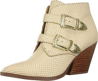 أحذية نسائية طويلة حتى الكاحل من Franco Sarto، أسود، مقاس كبير