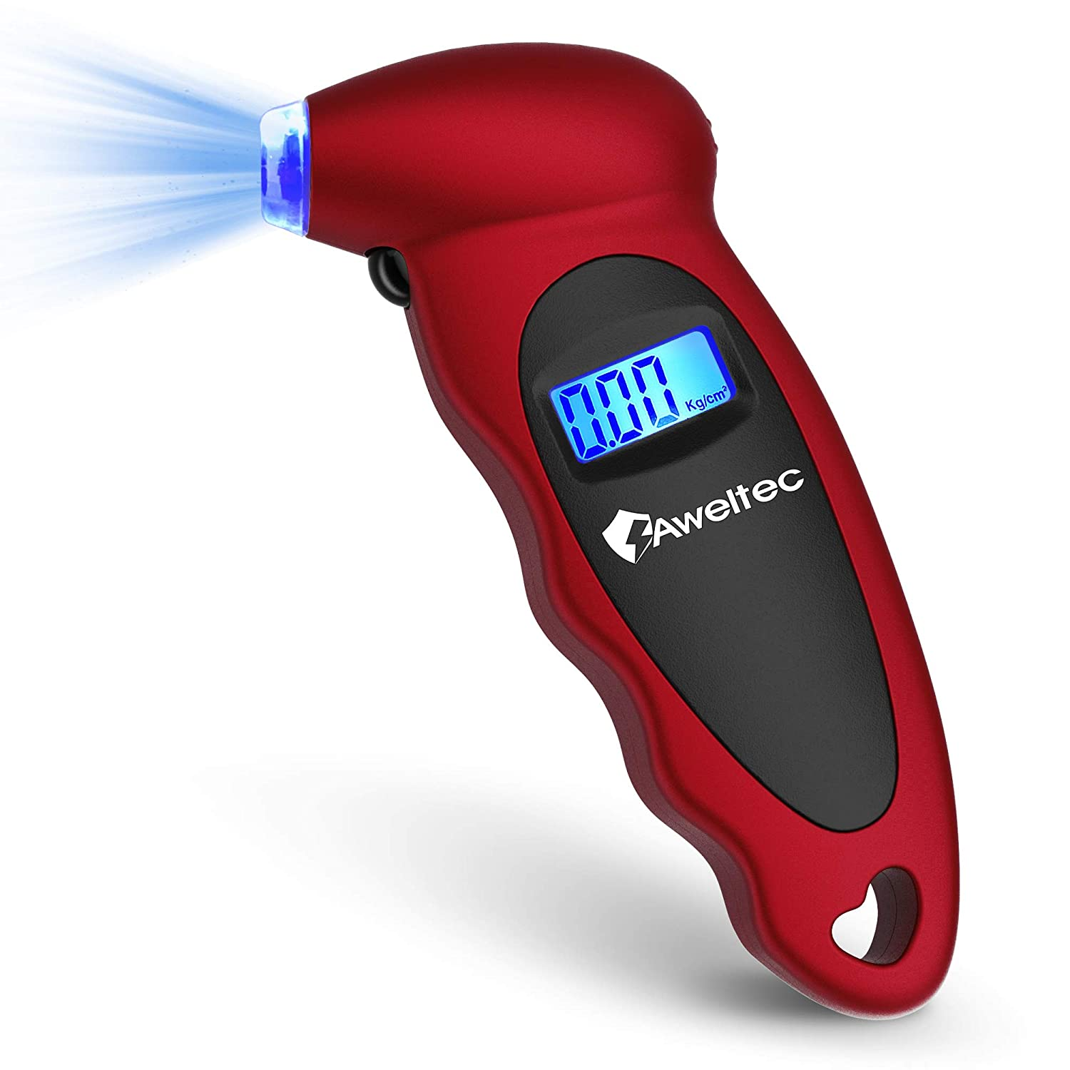 AWELTEC Digital Tire Pressure Gauge Quality Cheap mail order shopping inspection PSI Settings 150 Ga 4