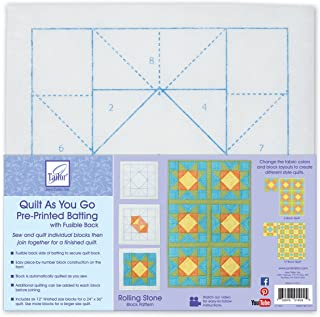 June Tailor JT-1404 Block Series Quilt As You Go - Rolling Stone