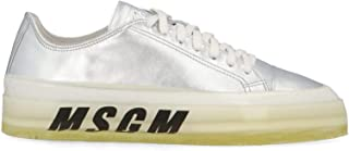 MSGM Luxury Fashion Womens 2741MDS72516690 Silver Sneakers | Fall Winter 19
