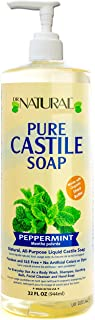 Dr. Natural Pure-castile Liquid Soap, Peppermint, 32 Oz