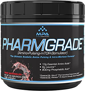 PharmGrade EAA Jolly Watermelon, Essential Amino Acid, IntraWorkout, Ajinomoto, EAA, 30 Servings