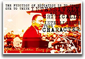 Martin Luther King Jr Poster   12-Inches By 18-Inches   JSC106