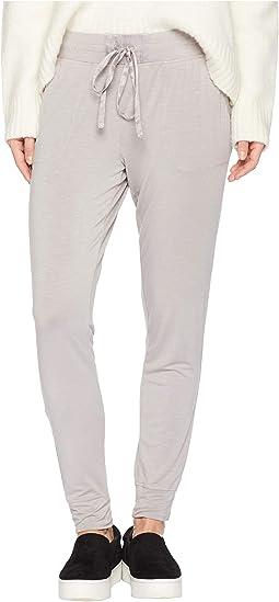 Rayon Spandex Slub Jersey Lounge Jogger Pants