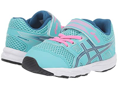 ASICS Kids Gel-Contend 5 (Toddler) (Ice Mint/Deep Sapphire) Girls Shoes