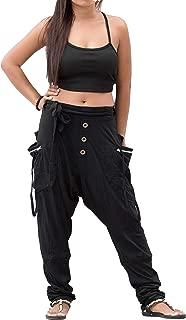 Women's Harem Loose Yoga Travel Lounge Pants with Pockets Casual Boho