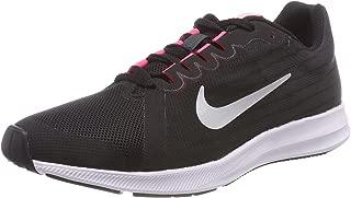 Nike Australia Downshifter 8 (GS) Girls Running Shoes, Black/Metallic Silver-Anthracite-White, 5.5 US