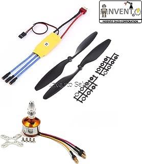 Invento Quadcopter Kit BLDC Brushless Motor A2212 1000KV 30A ESC 1045 Propeller Set