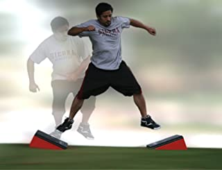Plyometric Lateral Side Jump Angle Plyo Boxes - Set of 2