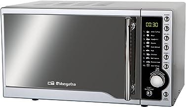 Orbegozo MIG 2341 CE-Microondas, 900 W, 23 l, 8 Niveles, 23 litros, Acero inoxidable