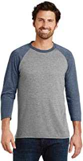 District Made DM136 Mens Perfect Sleeve Raglan