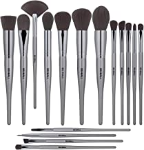 BS-MALL Makeup Brush Set Premium Synthetic Bristles Powder Foundation Blush Contour Concealers Lip Eyeshadow Brushes Kit (18 PCS)