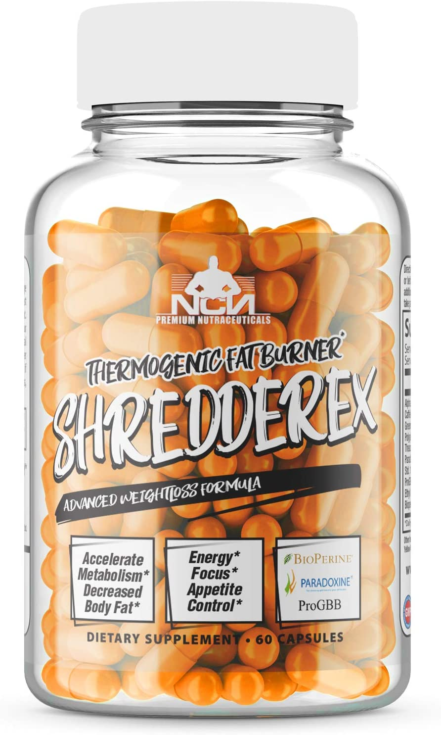 Denver Mall SHREDDEREX - Thermogenic Fat Burner Energy and Manufacturer OFFicial shop Mood Enhancers