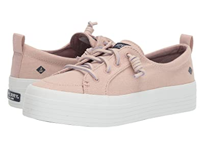 Sperry Crest Vibe Triple Canvas (Rose Dust) Women