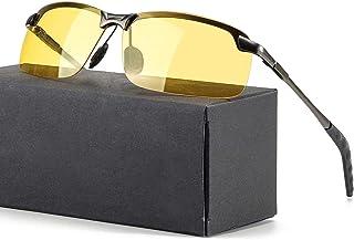 visione HD nuoshen unisex protezione UV moto e bici polarizzati antiriflesso occhiali da sole per guida per guida notturna