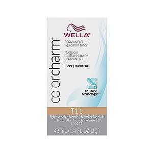 Wella T11 Lightest Beige Blonde Color Charm Toner