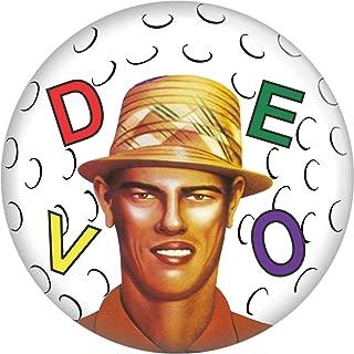 1.25 Round Button Flower Pot Hat with Logo Devo