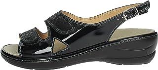 Novaflex Sandalo Donna Nero Costanza