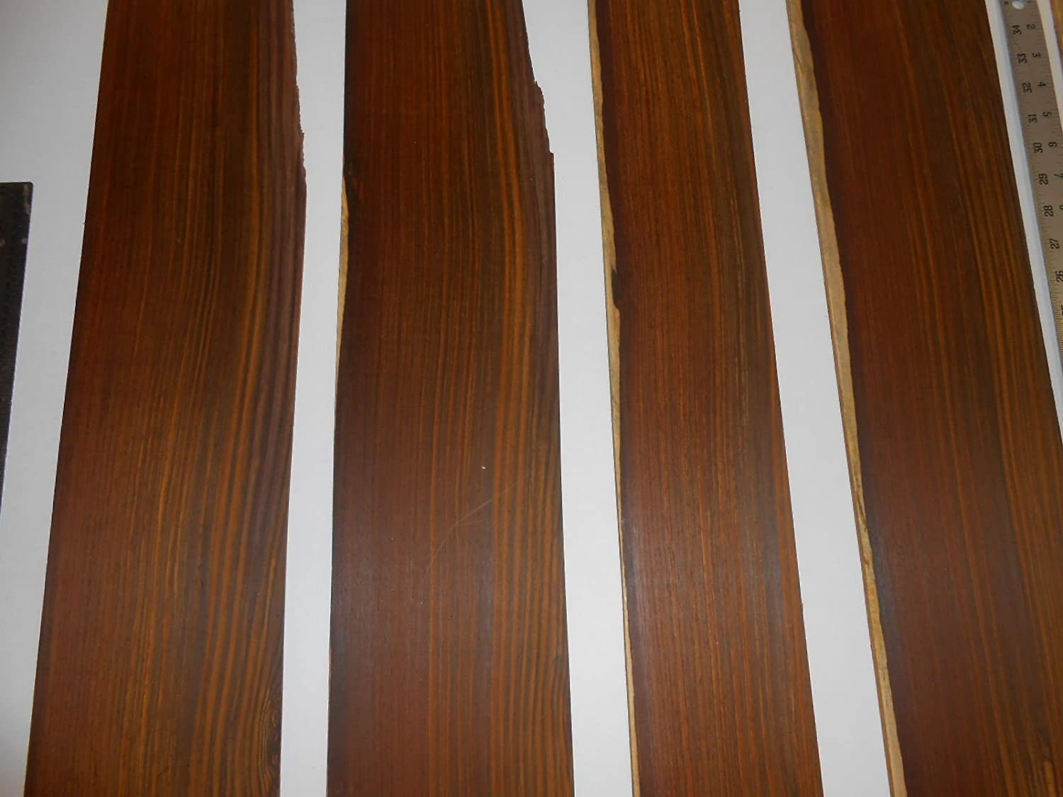 5 square feet of sanded cocobolo veneer t 0.0625 16 or Complete Free Shipping inches Discount mail order 1