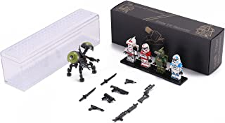 Stellaris Wars Series 1 Collectible Sci Fi Minifigure War Battle Pack - Buzz Droid Army Set One Buzz Droid with Random Sel...