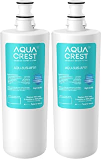AQUACREST 3US-AF01 Under Sink Water Filter, Replacement for Filtrete Standard 3US-AF01, 3US-AS01, Aqua-Pure AP Easy C-CS-FF, Whirlpool WHCF-SRC, WHCF-SUFC, WHCF-SUF Water Filter (Pack of 2)