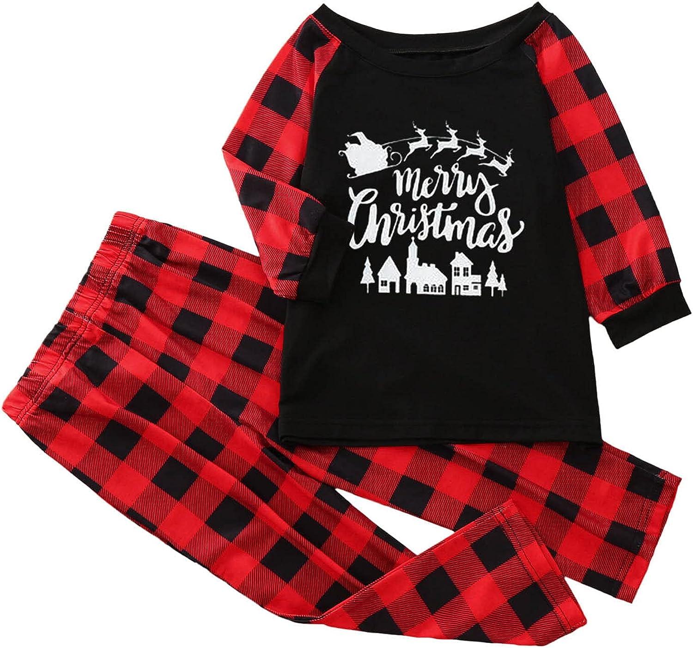 Family Pajamas Christmas Pajamas For Family Xmas Pajamas Pjs Sleepwear Outfits Matching Set (Men)