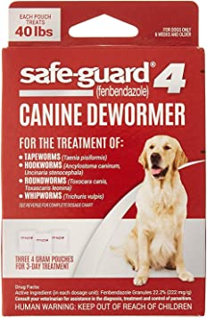 Safe-Guard Canine Dewormer   Chewy