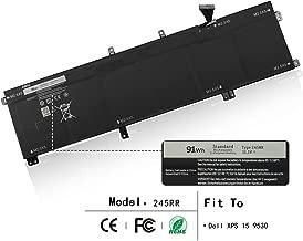 ZWXJ Laptop Battery 245RR(11.1V 91Wh) for Dell XPS 15 9530 Laptop 701WJ 7D1WJ T0TRM