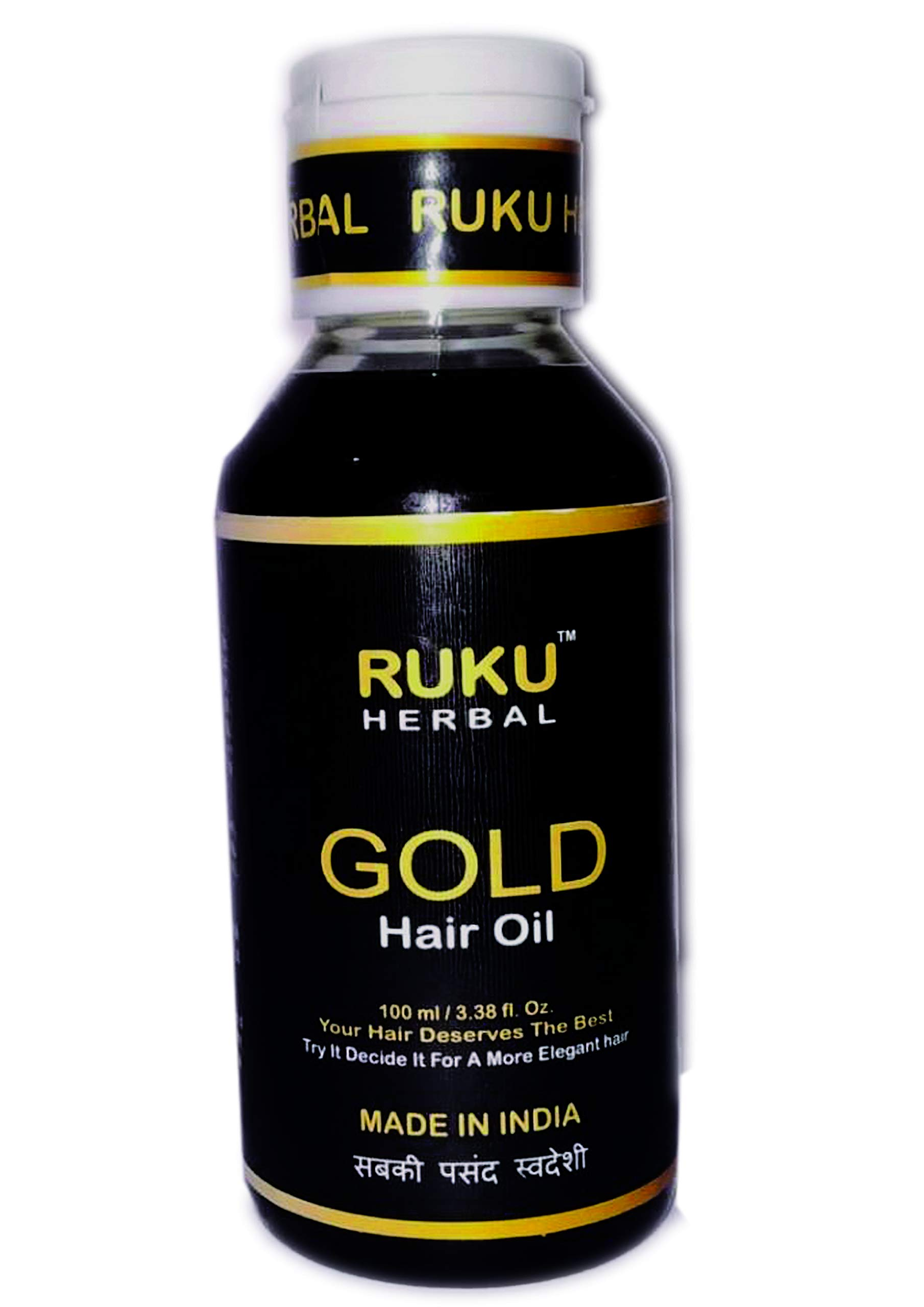 Ruku Herbal Gold Hair Oil 100 ML