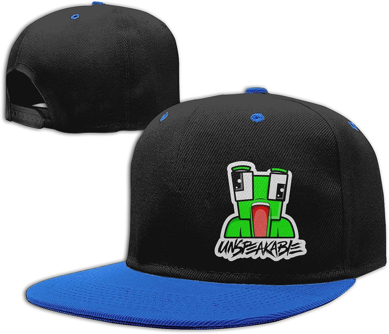 meiystyle Boys Baseball Cap Sports Cap Adjustable Hip Hop Cap, Un-Speakable Red: Clothing