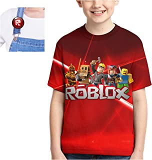 Sponsored Ad - 3D Birthday Shirt,Printing Short Sleeve T-Shirts,Crewneck Tee Top for Boys and Girls in Game