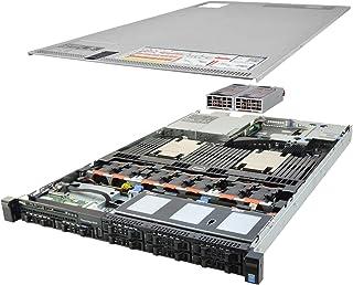 Premium Dell PowerEdge R630 8 Bay SFF 1U Rackmount Server, 2X Xeon E5-2680 V3 2.5GHz 12 Core, 192GB DDR4 RAM, 8X 900GB 10K SAS 2.5 Drives, 2X 750W PSUs, 1 Year Warranty (Renewed)