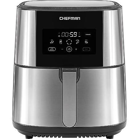 Chefman Freidora de Aire Digital de 7.5 Litros | Air Fryer | Fríe sin Aceite | TurboFry | Libre de BPA