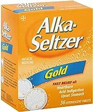 Alka-Seltzer Effervescent Gold - 36 Tablets, Pack of 3