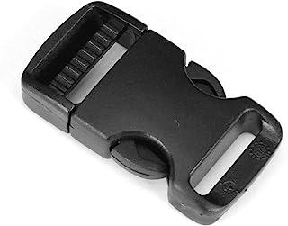 Strapworks Plastic Single Adjustable Side Release Buckles Bag Straps, Belts, Rifle Slings, Dog Collars