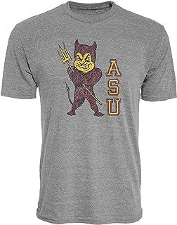 Reserve Collection by Blue 84 NCAA Arizona State Sun Devils Mens Vintage Tri-Blend Vault T Shirt, Arizona State Sun Devils...