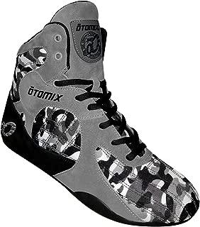 Otomix Men's Stingray Escape Bodybuilding Lifting MMA & Wrestling Shoes Grey/Camo 14