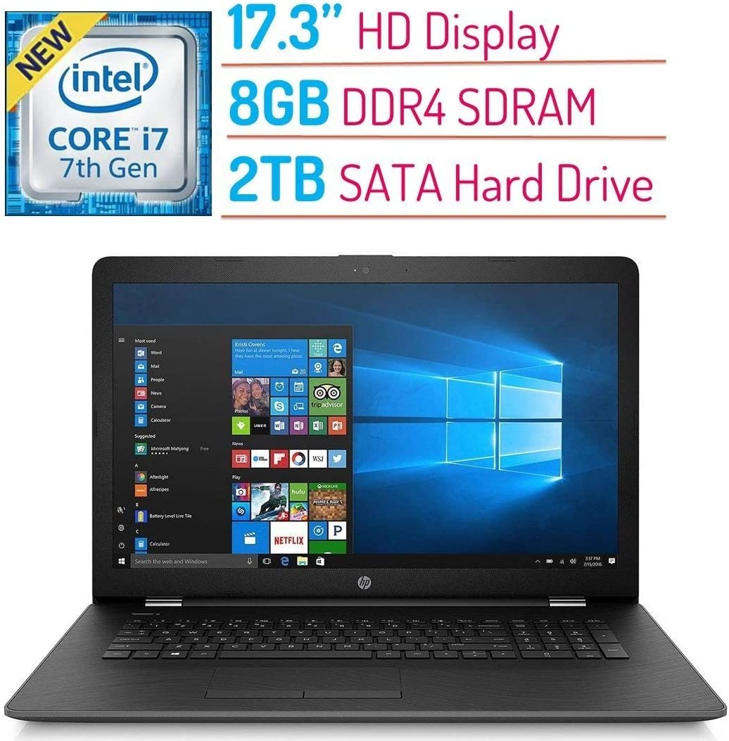 2018 High Performance HP 17.3? HD+ Display 1600x900 New arrival Laptop PC Japan Maker New