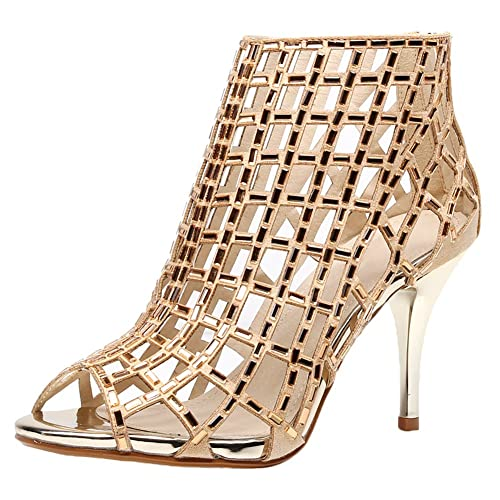 39f56188401ad Black and Silver High Heel Shoe: Amazon.com