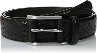 Stacy Adams Men's 32mm Basketweave Belt
