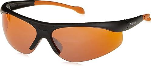 Hack Your Sleep NoBlue Blue Blocking Sunglasses Orange/Amber Tinted Lens Computer Glasses (Includes Ebook) Blocks 99.9% of...