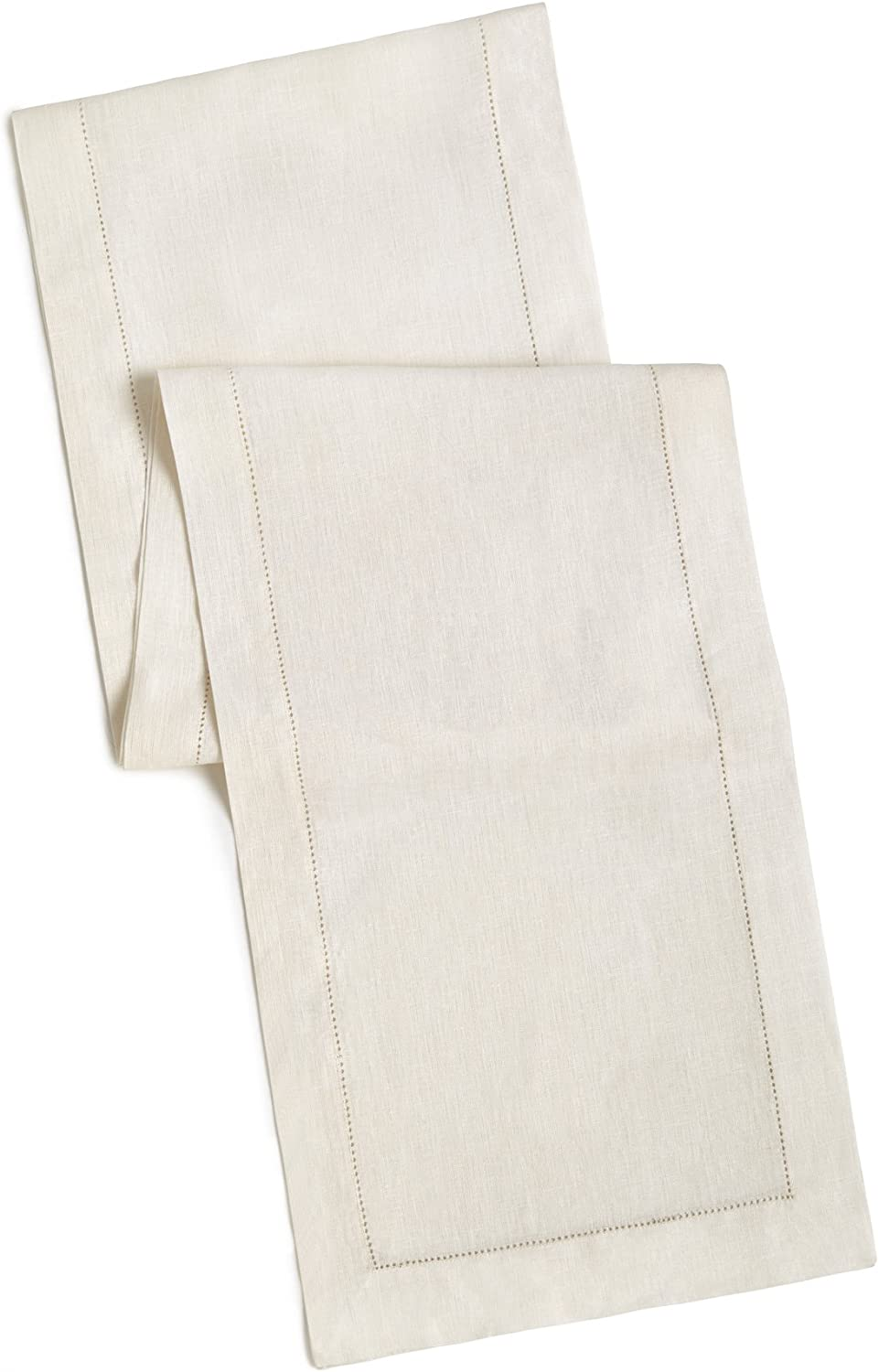 100 Linen Hemstitch Table Runner Size 16x108 Ivory Hand Crafted And Hand Stitched Table Runner With Hemstitch Detailing The Pure Linen Fabric Works Well In Both Casual And Formal