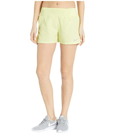 Nike Crew Shorts (Limelight/Reflective Silver) Women