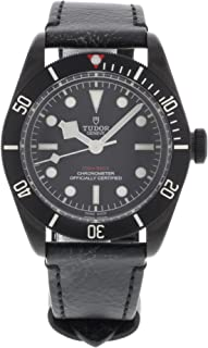 Tudor Heritage Black Bay Black Dial Automatic Mens Watch 79230DK-BKLS
