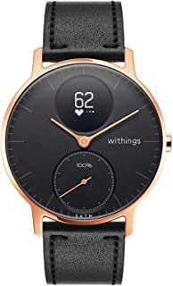 Withings Steel HR Hybrid Smartwatch - Activity, Sleep, Fitness and Heart Rate Tracker with Connected GPS (Nokia version)